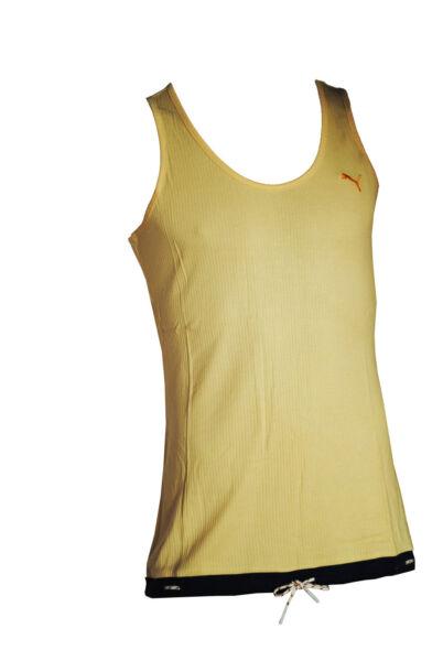 Puma Damen Shirt Tank Top Sport Yacht Vest apricot orange T-Shirt