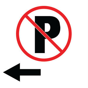No-Parking-On-The-Left-Sign-8-039-039-x-8-039-039
