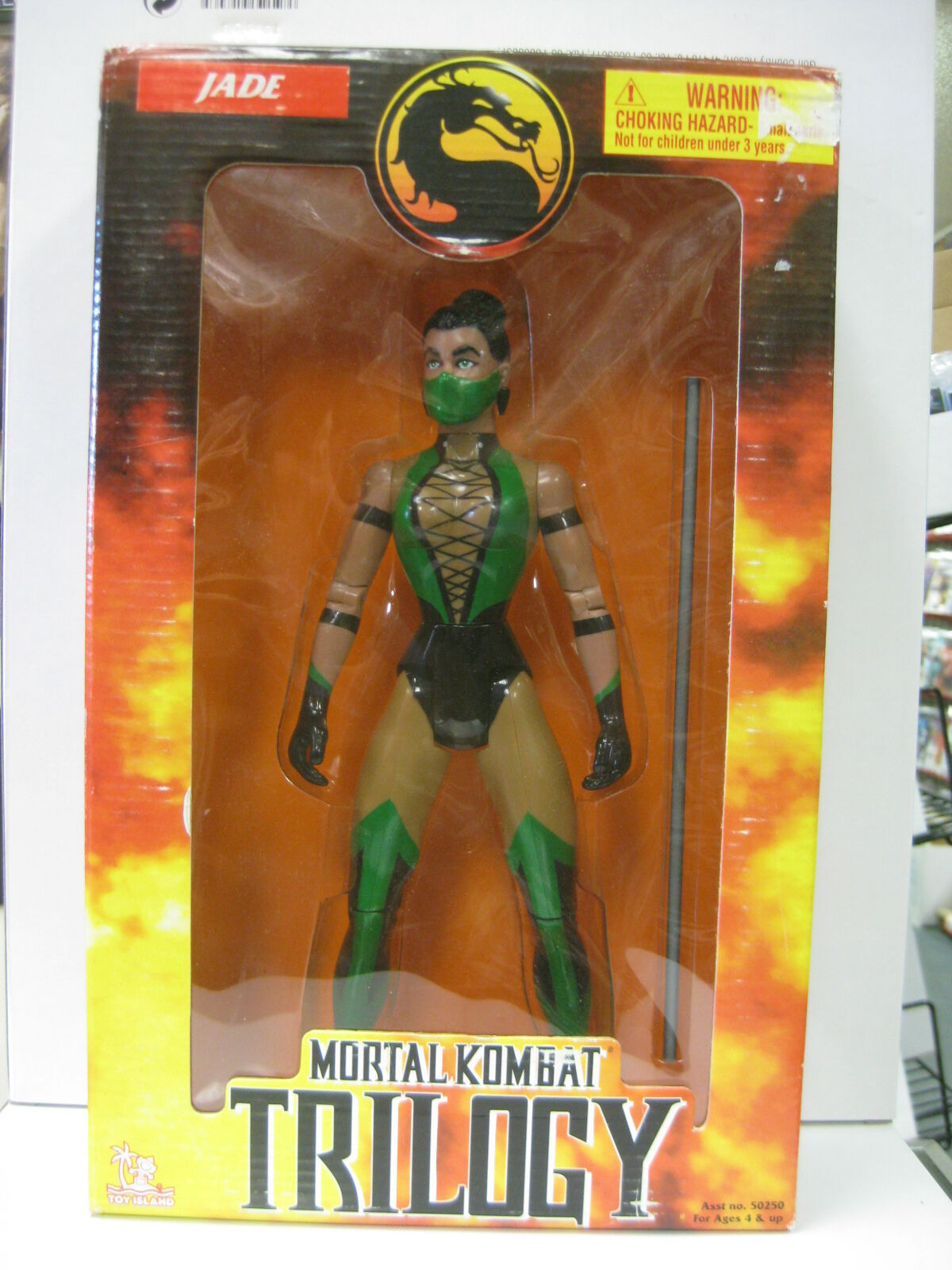 Mortal Kombat Trilogy Jade Figure 1998 - NEW Toy Island