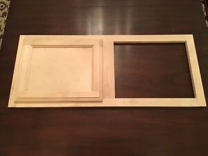 Image Is Loading Unfinished Natural Birch Top Cabinet Face Frame 36