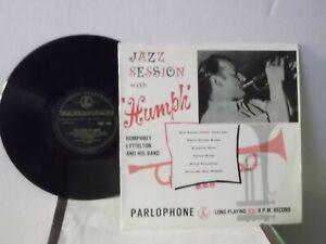 Humphrey-Lyttelton-amp-His-Band-Parlophone-034-Jazz-Session-with-Humph-034-UK-10-034-LP-mono