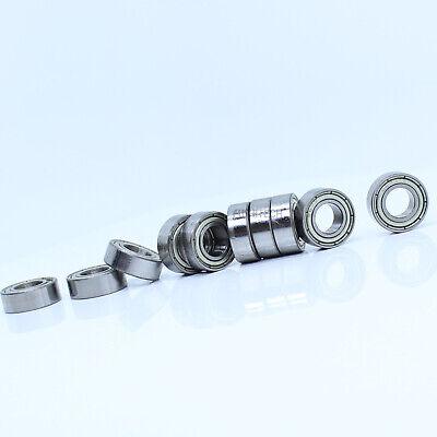 7x14x5 mm 4 PCS Metal Shielded Ball Bearing Bearings 687z 7*14*5 687ZZ