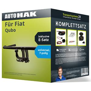 Anhaengerkupplung-abnehmbar-fuer-FIAT-Qubo-E-Satz-Kit-AHK-ES
