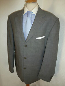 3bde60843 MENS TED BAKER ENDURANCE GREY WOOL CASHMERE FALL SUIT JACKET 42 ...