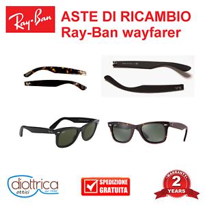 Aste-di-Ricambio-RAY-BAN-RB-2140-WAYFARER-OCCHIALI-DA-SOLE-OCCHIALE-RAYBAN
