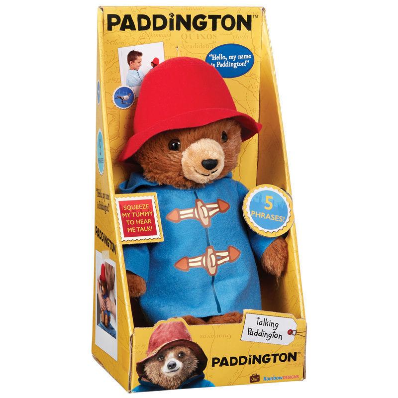 Paddington Film sprechen Bear 27.9cm 5 Sätze tolles tolles tolles Geschenk Plüschtier c8ed23