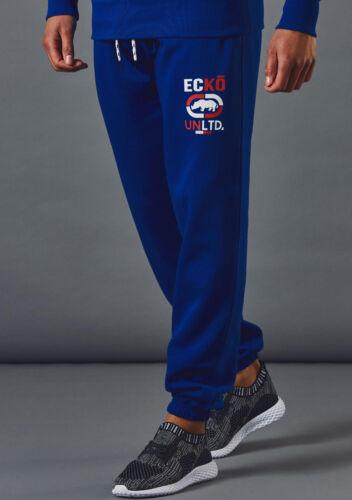 Da Uomo Ecko Unltd GOODWOOD in Pile Jogging Fondo Sudore Pantaloni Gymwear S-XXL