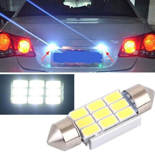 F394 Kennzeichenbeleuchtung Auto Glühbirne SMD 5630 6000K-7000K Weiß Automobil