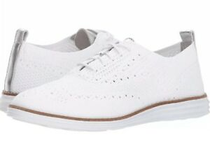New Cole Haan Grand OS White Knit Wing