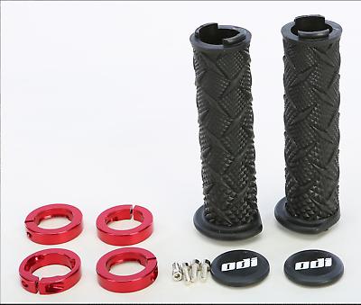 New ODI Rouge grip set BLACK Honda TRX450r TRX 450r TRX450er