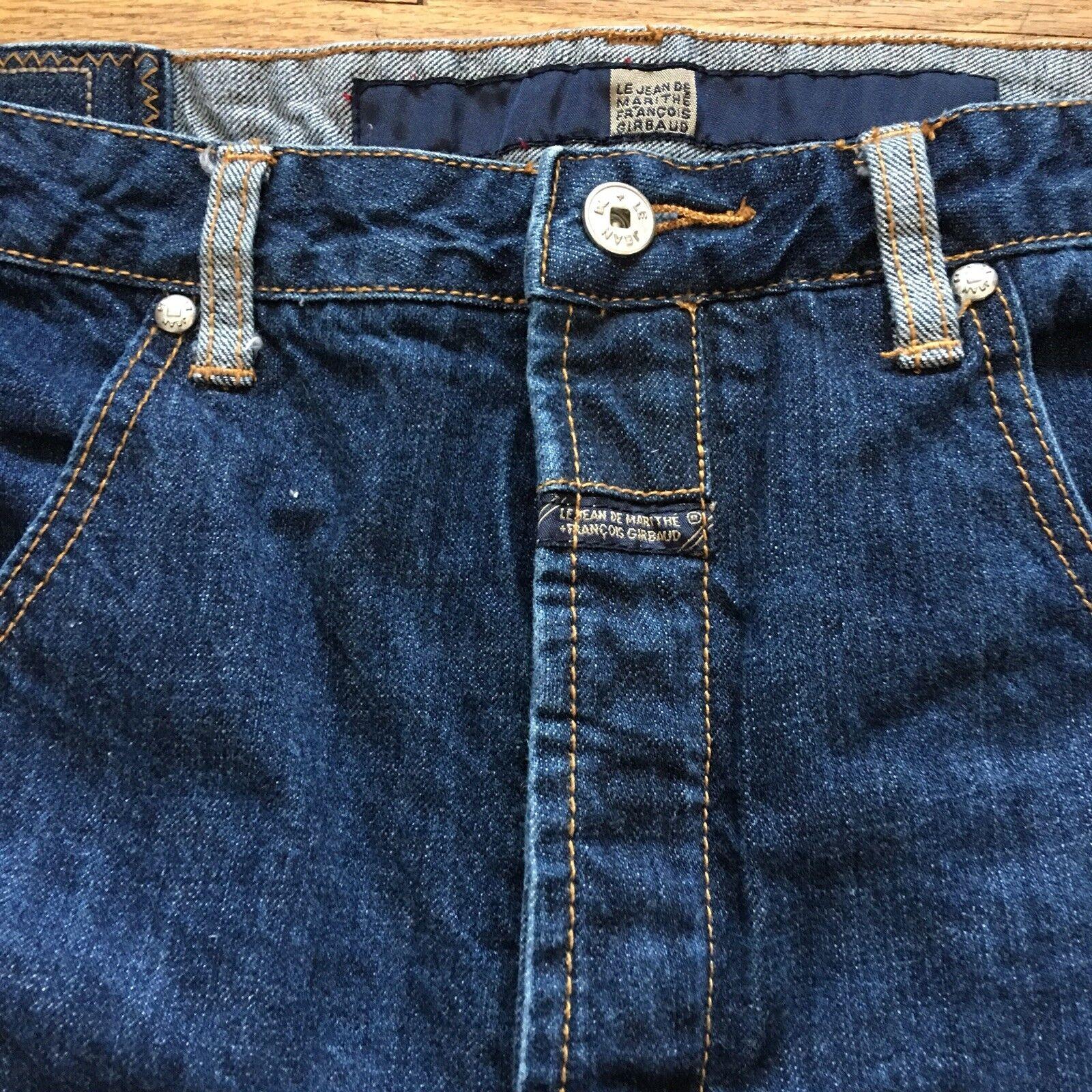 2250bcc1 Le Jean De Marithe Francois Girbaud Jeans Men 36 Baggy Vintage 90s Hip Hop