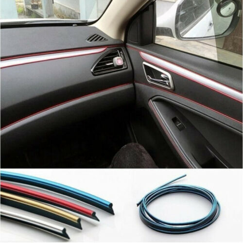 5M Adhesive Strips for Car Interior Decoration Molding Styling Auto//Accessori YE