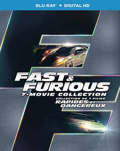 Fast-Furious-1-7-Collection-Blu-ray-Disc-2016-8-Disc-Set-Canadian