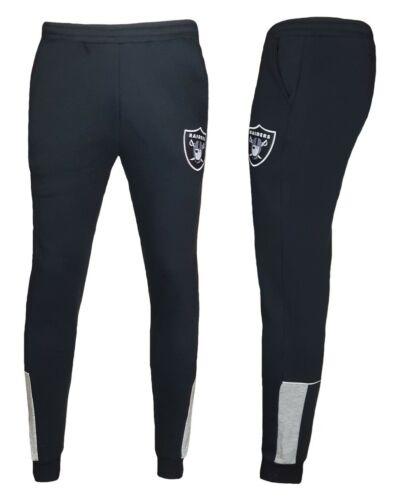 NFL Oakland Raiders Tuta Da Ginnastica Pantaloni Mens Medium Jogging Bottoms
