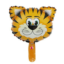 Hot Zebra monkey Tiger Deer Foil Balloons Helium Safari Jungle Baby Birthday