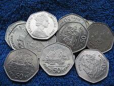 1704-2004 Gibraltar Battle Of Trafalgar 50p Coin Rare Collectable Free UK post