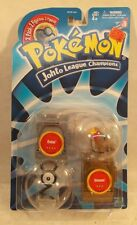 "Pokemon 2"" Johto League Champions - Entei and Unown Figures by Hasbro (MOC)"