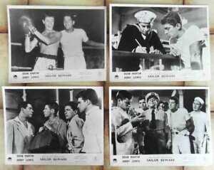 4-Aushangfotos-Sailor-Beware-JERRY-LEWIS-DEAN-MARTIN-s-w-USA