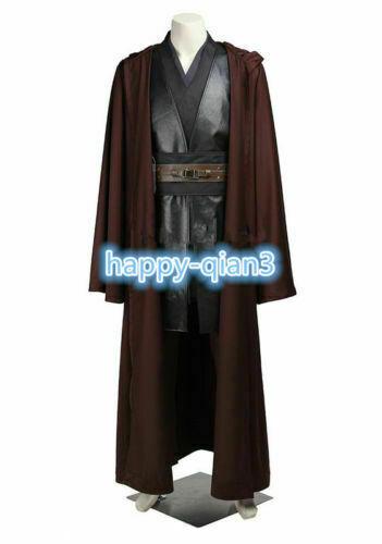 Cool Star Wars Anakin Skywalker Cosplay Costume Jedi Knight Halloween Costume/&