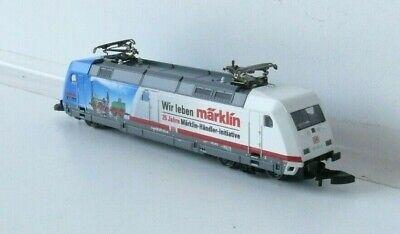 Adattabile Märklin Z - 88676 Elektrolokomotive Br101db Ag-nuovo & Ovp-ive Br101db Ag - Neu & Ovp It-it Mostra Il Titolo Originale Avere Una Lunga Posizione Storica