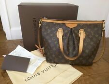 Auth Louis Vuitton Monogram Palermo PM Tote/Bag w/ Receipt,Tags,Box,Complete!