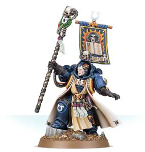 Jefe BiblioteCocheio Tigurius Comisión magníficamente pintado warhammer 40K