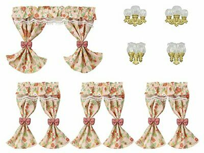Sylvanian Families Calico Critters Lamp Shade Curtain Set Furniture Epoch KA-627