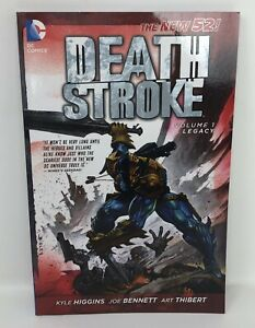 DEATH-STROKE-Volume-1-Legacy-Kyle-Higgins-DC-TPB-Graphic-Novel