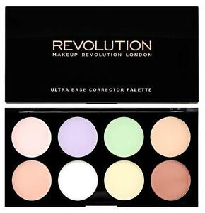 MAKEUP-REVOLUTION-Ultra-Base-COLOUR-CORRECTOR-Cream-Concealer-PALETTE-8-Shades
