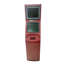 Dual Screen Self Service Kiosks With Touch Screen And Printer