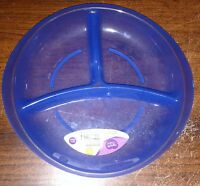 Parent's Choice Purple Toddler Section Plates Bpa-free Microwave Dishwasher Safe