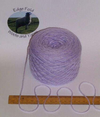 100g ball Baby Lilac Purple soft British acrylic double knitting wool yarn Vegan