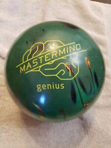 BRUNSWICK-MASTERMIND-GENIUS-HYBRID-ASYMMETRIC-15lbs-BOWLING-BALL-B039