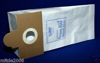 Clarke 50721b Enviro-max Vacuum Bags For Combi Vac Model 5 Packages Of 10