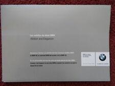 BMW M3 Coupe, Z8 Roadster V8 & 3 Series Cabriolet original 2000 brochure - E46