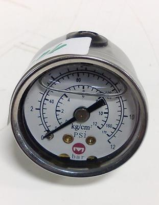 0-12bar / 0-170psi / 0-12kg/cm2 Pressure Gauge 35038