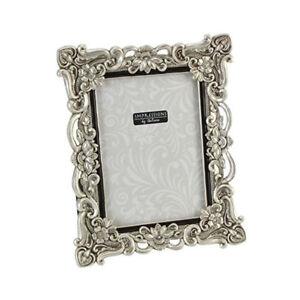 Silver-Resin-Antique-Effect-Photo-Frame-6x8-034-Photograph-Horizontal-or-Portrait