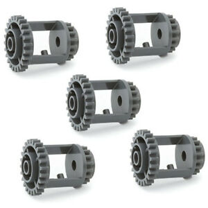 Details about LEGO Technic 5 pcs DARK GREY DIFFERENTIAL GEAR 24-16 Teeth  drive speed Part 6573