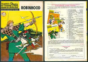 Philippine-Famous-Classic-Illustrated-Komiks-ROBINHOOD-Comics