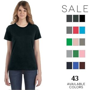 811661f06 Image is loading Anvil-Womens-Lightweight-T-Shirt-880-Size-S-