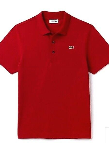 New Mens Lacoste Polo Shirt Piment rot Größe T5 T5 T5 L | Up-to-date Styling