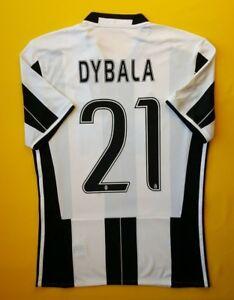 0026d284235 5+ 5 Dybala Juventus jersey small 2016 2017 home shirt AI6241 soccer ...