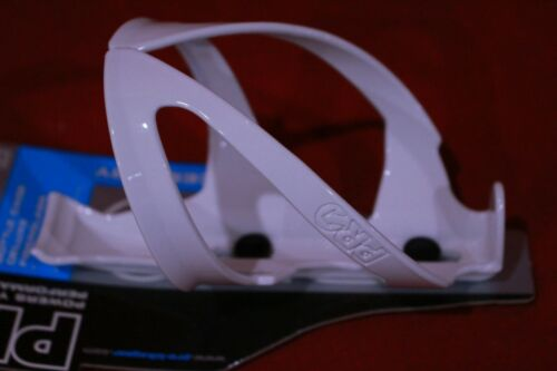 Pair NEW Shimano Pro Deluxe Bicycle Water Bottle Cages White