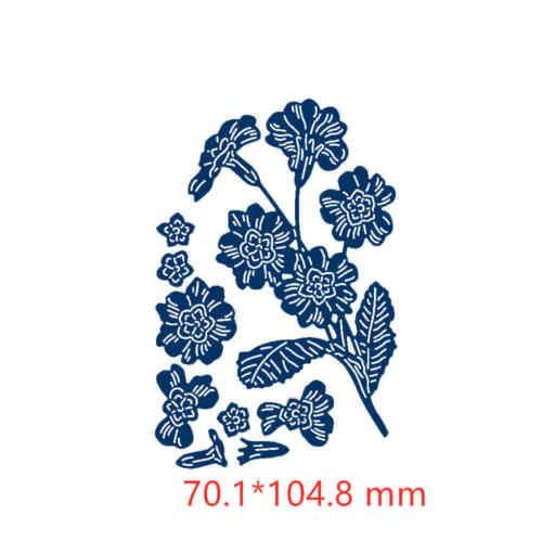Gentleman Bridegroom Bride Tropical Plants Flowers Vine Metal Cutting Dies