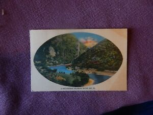 Vintage-Postcard-PENNSYLVANIA-Picturesque-Delaware-Water-Gap-Posted-1910