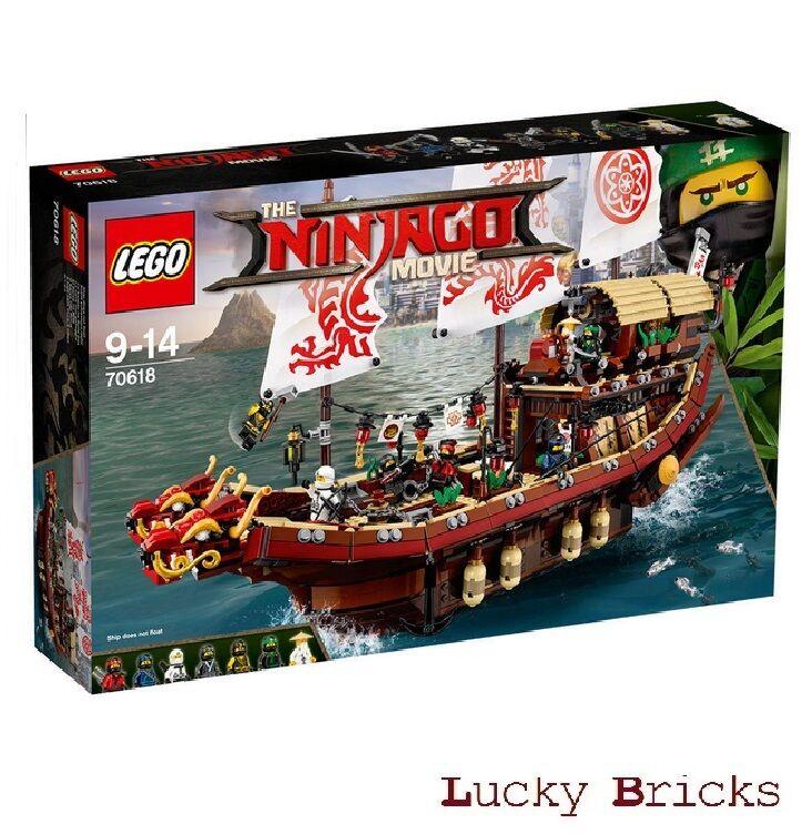LEGO® LEGO® LEGO® NINJAGO Movie - 70618 Ninja-Flugsegler + NEU & OVP + 7223a4