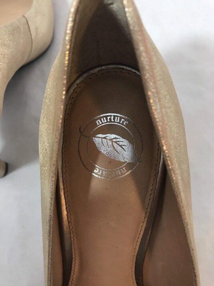 Nurture Julee 2-1 2 Inch Inch Inch Leather Pumps Heels Größe 7-1 2M Rhinestone Bow bc1ab6