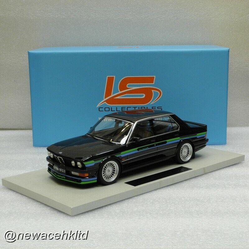 BMW alpina B10 3.5 Noir ls collectibles 1 18  LS044A