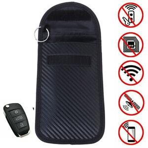 Car-Key-Signal-Blocker-Case-Bag-Faraday-Signal-Blocking-Shielding-Pouch-Wallet-L
