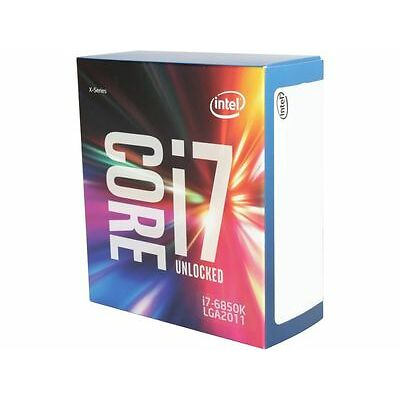 Intel Core i7-6850K 15M Broadwell-E 6-Core 3.6 GHz LGA 2011-v3 140W BX80671I7685